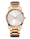 Calvin Klein City Swiss Watch - Rose Gold