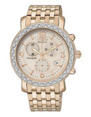 Citizen Drive Drive Round Rose Gold Watch - Rose gold