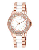 Anne Klein Rosegold Tone Case - Rose Gold
