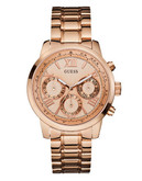 Guess Ladies Rose Gold Sport Watch W0330L2 - Rose Gold