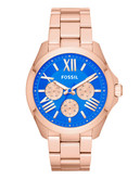 Fossil Cecile Multifunction Stainless Steel Watch - Rose Gold-Tone - Rose Gold