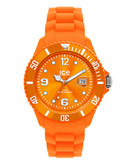 Ice Watch Womens Sili Forever Orange Watch - Orange
