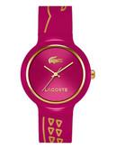 Lacoste Womens Goa Standard 2020087 Watch - Red