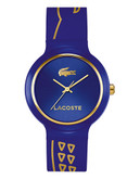 Lacoste Womens Goa Standard 2020086 Watch - Blue