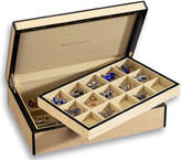 Venlo Blond Collection Fiddleback Maple 30 Cufflink Case