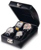 Venlo Italian Leather Collection Sienna 4 Watch Case