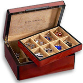 Venlo Triple Burlwood Collection 16 Cufflink Case