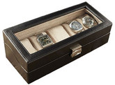5 Piece Watch Box Black