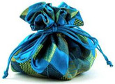 Cathayana Jewelry Pouch Teal