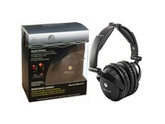 Able Planet Foldable Active Noise Cancelling Headphones with LINX AUDIO - Black
