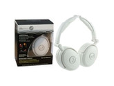 Able Planet Foldable Active Noise Cancelling Headphones with LINX AUDIO - White