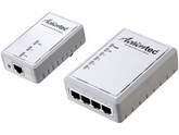 4pk 500mbps Powerline 1port Adapter Eth Networking Wb