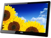 "AOC E1659FWU Piano-black Glossy Finish 16"" 8ms (GTG) Widescreen LED Backlight Monitor (Portable USB)"