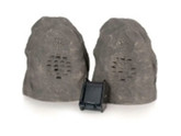 C2g Granite Wireless Rock Speaker Bundle (rechargeable)
