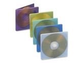 Compucessory 55306 CD Jewel Case Extra Thin 5inx5inx5/32in 50/PK Assorted
