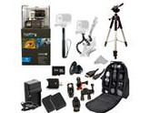 GoPro HERO3: Black Edition Camera (CHDHX-301) + Action Pro Series All In 1 ATV/Bike Kit Designed for Bike Mount Motorcross, ATV, ROAD, MOUNTAIN, snowmobile + Ex