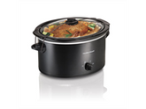 Hamilton Beach 33256 5-Quart Portable Oval Slow Cooker
