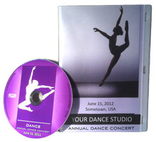 In Motion Recital DVD's