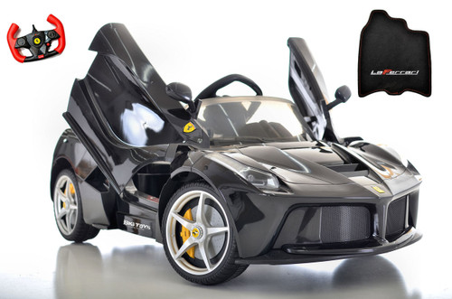 black LaFerrari 12V Ride On Car