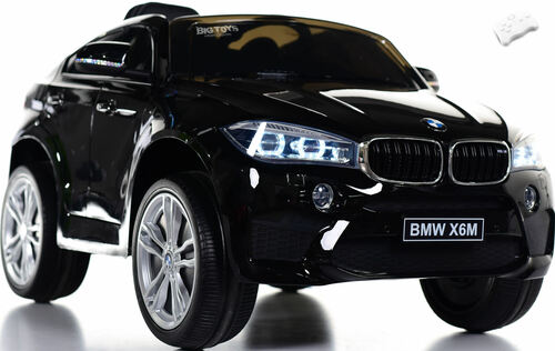 12V BMW X6 SUV Ride On Car w/ Remote Control & Leather Seat - Black