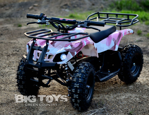 Pink Camo Sonora ATV 24v