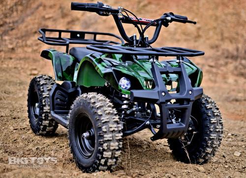 Green Camo Sonora ATV 24v