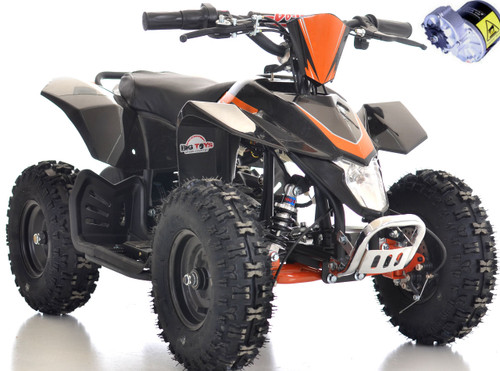 Go-Bowen 24v Sahara ATV Black white background