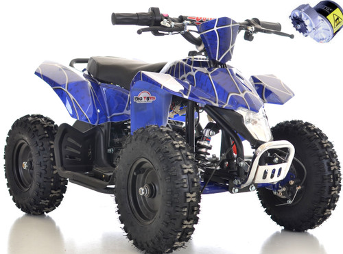 24v Sahara ATV Blue white background