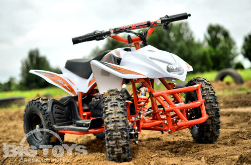 Orange Titan ATV 24v