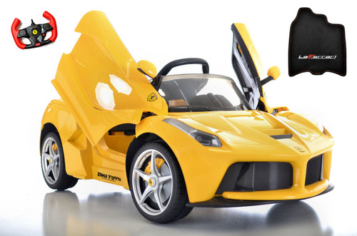 yellow LaFerrari toddler kids Ride On Car