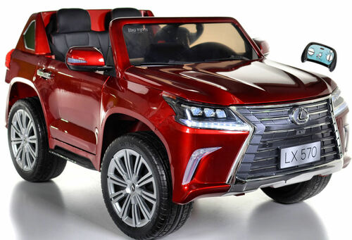 Lexus LX 570 Kids Ride On SUV w/ All Wheel Drive & Remote Control - Red
