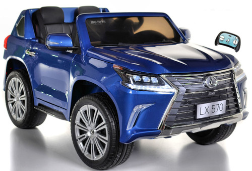 Lexus LX 570 Kids Ride On SUV 4X4 all wheel drive w/ remote control -Blue