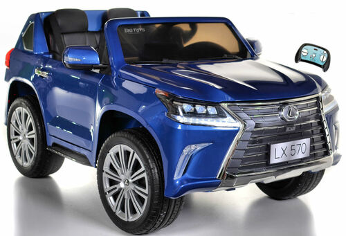 Lexus LX 570 Kids Ride On SUV w/ All Wheel Drive & Remote Control - Blue