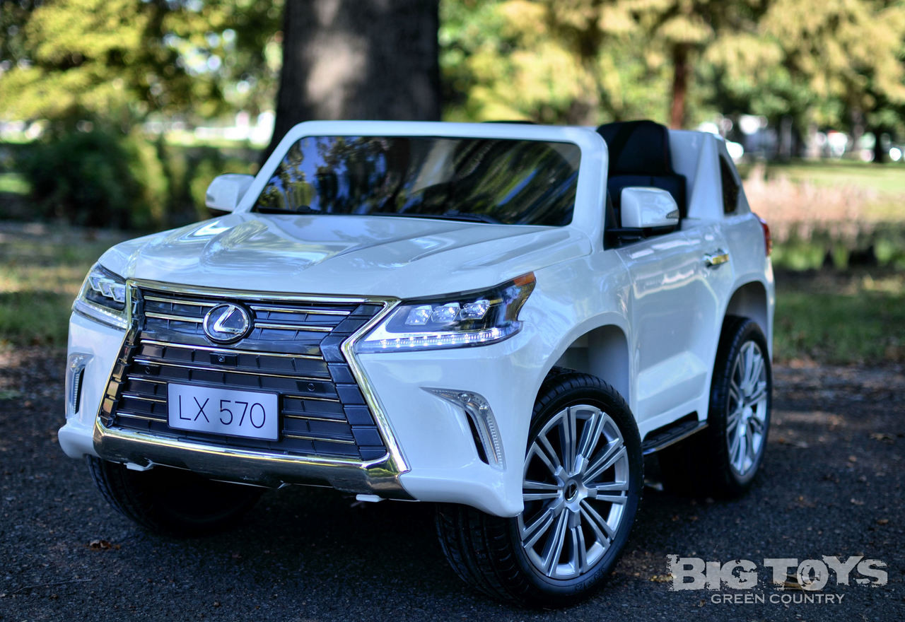 White Lexus Suv >> Lexus Power Wheel Kids Car