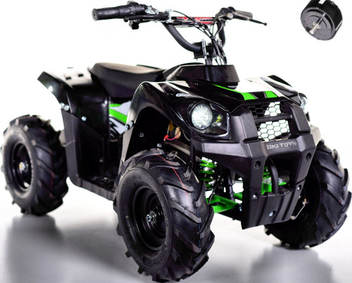 Super Sport 36V 500W Kids 4 Wheeler ATV - Black