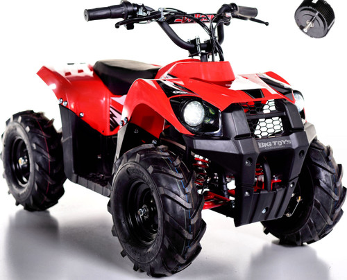 Super Sport 36V 500W Kids 4 Wheeler ATV - Red