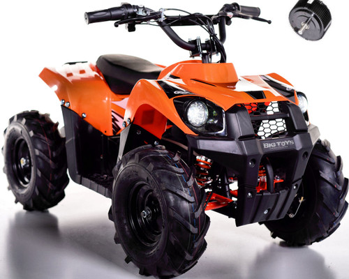 Super Sport 36V 500W Kids 4 Wheeler ATV + FREE Shipping - Orange