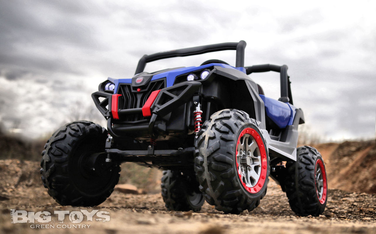 Blade XR 4x4 UTV Ride On Side X Side RC w/ rubber tires -Blue