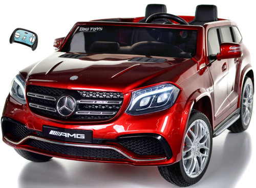 GLS 63 Mercedes-Benz AMG Ride On SUV w/ all wheel drive & 2 Seats -Red