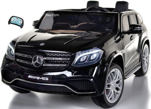 GLS 63 Mercedes-Benz AMG Ride On SUV w/ all wheel drive & 2 Seats -Black