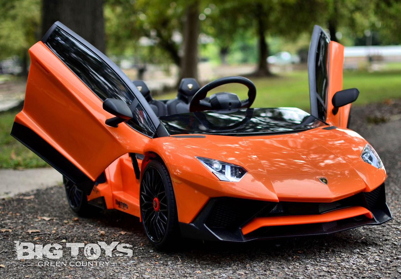 Kids Ride On Cars: Kids 12v Lamborghini Ride On Power Wheel Kids Car