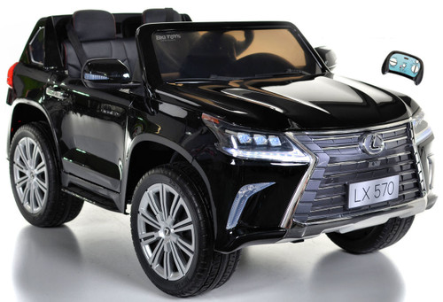 Lexus LX 570 Kids Ride On SUV 4X4 all wheel drive w/ remote control -Black