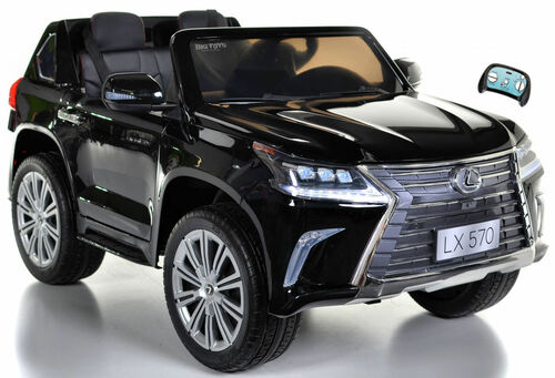 Lexus LX 570 Kids Ride On SUV w/ All Wheel Drive & Remote Control - Black