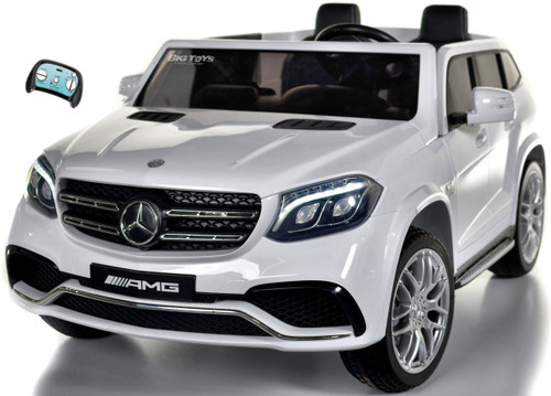 GLS 63 Mercedes-Benz AMG Ride On SUV w/ all wheel drive & 2 Seats -White