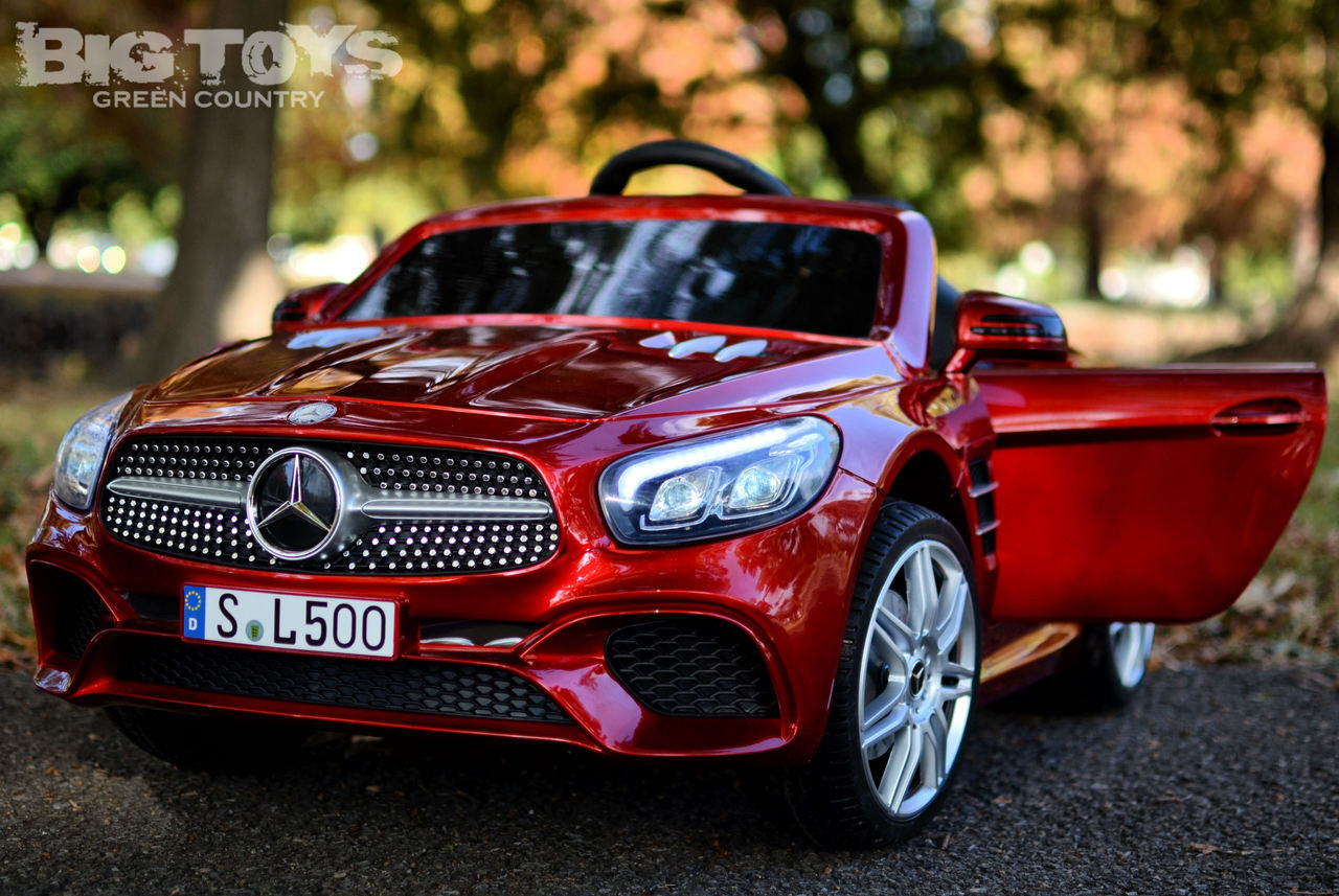 12v rc power wheel mercedes kids car mercedes benz sl 500 rc ride on car w rubber tires rc remote red