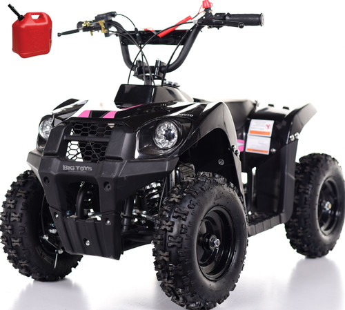 Super Sport 40CC Kids Mini 4 Wheeler ATV + FREE Shipping - Pink