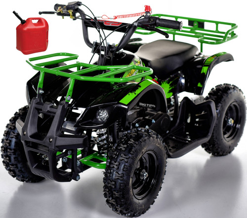 Sonora 40CC Kids Mini 4 Wheeler ATV + FREE Shipping - Green