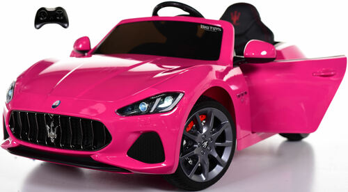 New Maserati Ride On Car w/ remote control + upgraded motors & MP3 -Pink
