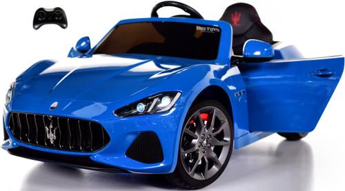 New Maserati GranCabrio Ride On Car w/ remote control & MP3 -Blue