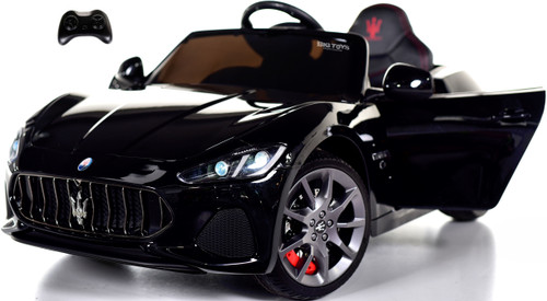 New Maserati GranCabrio Ride On Car w/ remote control & MP3 -Black